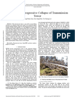Evaluation of Progressive Collapse of Transmission Tower
