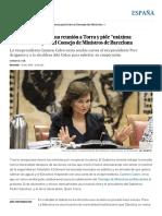 """El Gobierno ofrece una reunión a Torra y pide """"máxima colaboración"""" para el Consejo de Ministros de Barcelona _ España _ EL PAÍS.pdf"""