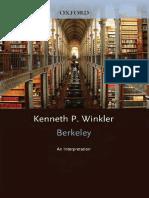 Kenneth P. Winkler Berkeley an Interpretation