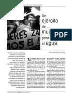 Un ejército de mujeres para defender el agua (Pueblos-OMAL, 15-01-16, México)