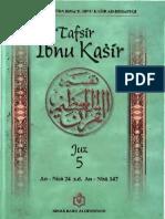 Tafsir Ibnu Katsir Juz 5