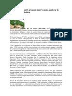 YPFB Cuenta Con 56 Áreas en Reserva Para Acelerar La Exploración en Bolivia