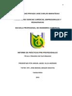 Informe de Practicas ELectrosur