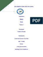 PSI214 (Sicología Educativa l) Tarea 1
