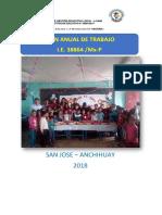 PAT. San Jose Anchihuay 2018