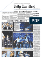 The Daily Tar Heel for October 18, 2010