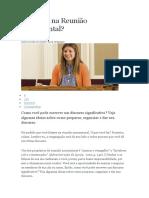 Vai Falar Na Reunião Sacramental PDF