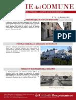 Notizie Dal Comune di Borgomanero del 14 Dicembre 2018