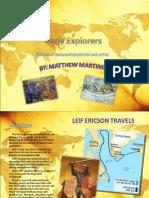 Presentation World Explorers