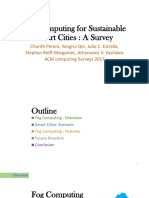 Fog Computing for Sustainable Smart Cities - A Survey