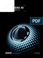 Cinema 4D Curriculum R11.5 US Low-res