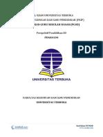 1 - Soal Ujian UT PGSD PDGK4104 Perspektif Pendidikan SD