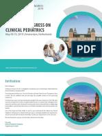 World Congress on Clinical Pediatrics | May 09-10, 2019 | Amsterdam, Netherlands