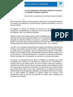 SNAC El Arbitraje de Consumo en España, Portugal y Argentina