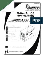 Manual Insignia 504 p Cc