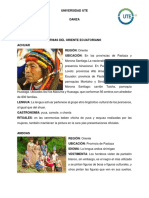 Danzas Tipicas Del Oriente Ecuatoriano