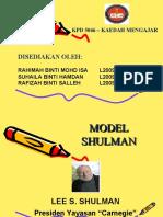 Model Shulman Power Point