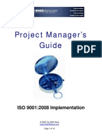 Project manager guide