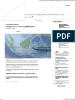 Gempa M 5,2 Guncang Mentawai