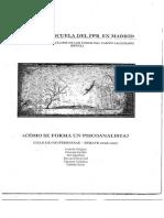 ¿CÓMO SE FORMA UN PSICOANALISTA).pdf