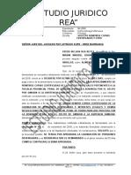 Solicito Remitirse Copias Certificadas - Miriam Briones