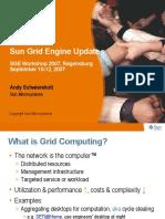 Sun Grid Engine Update