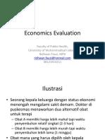 Evaluasi Ekonomi