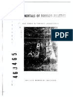 Fundamentals of Forging Practice