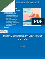 Managementul Pacientului Cu Tcc
