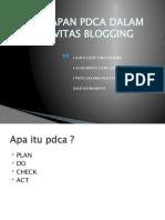 pdca blog