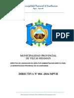 Directiva Liquidacion_administ_ Directa