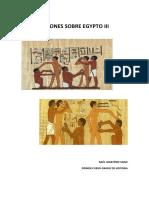 Visiones Sobre Egypto III Portada