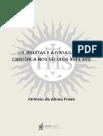 Os Jesuítas e  a divulgação científica