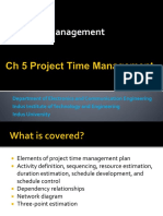 PM Ch 4 Project Time Management
