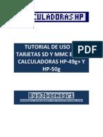 Uso de Tarjeta SD y MMC en La HP-50g