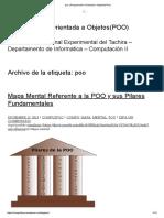 Poo _ Programación Orientada a Objetos(POO)