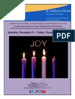 bulletin 12.15- 12.21.18