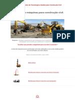 Catálogo de Máquinas para Construção Civil - M²Obras