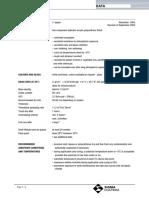 Sigma Dur 188 Technical Data Sheet