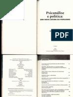 Christian Hoffmann e Joel Birman (Orgs) - Psicanálise e Política, Uma Nova Leitura do Populismo