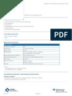 sigmarine-28 Technical Data Sheet