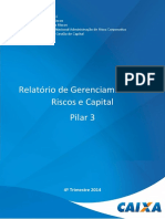 CAIXA Relatorio Pilar III Circ 3678 DEZ14