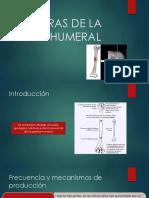 Fracturas de la diáfisis humeral