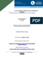 Metodo Didactien La Formación Cient de Est de Pedagogia Revactinveduc