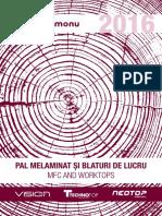 Kastamonu Catalog-PAL-melaminat-si-blaturi-de-lucru