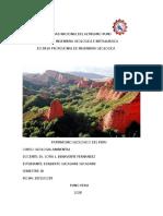 Patrimonio Geologico y Geoparques