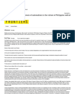 Class, Gender, And the Contours of Nationalism in the Culture of Philippine Radical Theater - Research Library - ProQuest