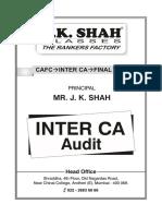 CA Inter Audit Jksc