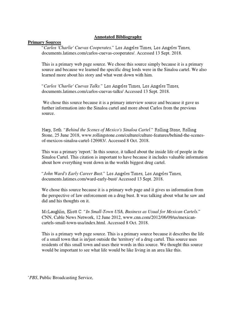 final copy sources for junior nhd | News | Sinaloa Cartel