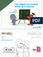 Unicef Educa Fichas Pocoyo Derechos Infancia